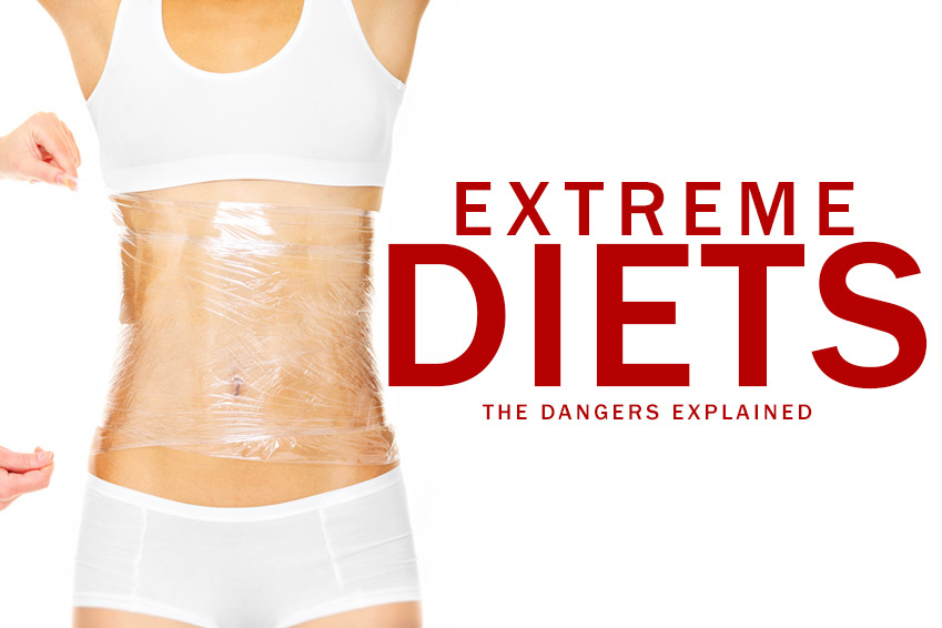 Dangers of Extreme Diets | SlimPlate System Weight Loss Blog